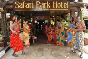 Safari Park Entrance
