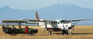 3 Days Amboseli Flying Safari Tour Packages