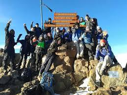 Group Photo at the peak