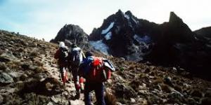 Hiking in Mt. Kenya